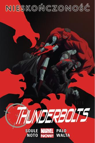 Thunderbolts - Nieskończoność. - okładka książki