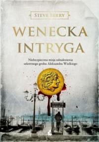 Wenecka intryga - okładka książki
