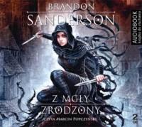 Z mgły zrodzony - Brandon Sanderson - pudełko audiobooku