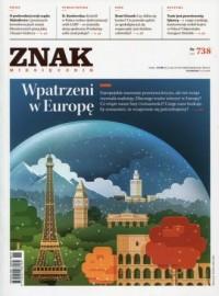 Znak nr 738. Wpatrzeni w Europę - okładka książki