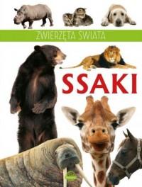 Zwierzęta świata. Ssaki - okładka książki