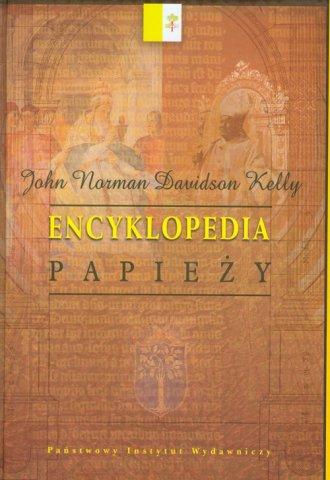 Encyklopedia papieży - okładka książki
