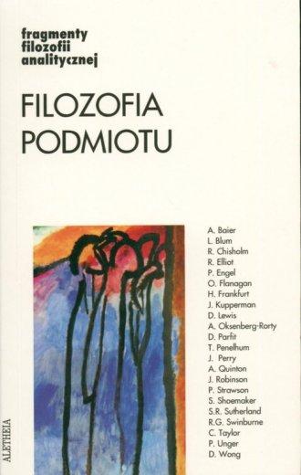 Filozofia podmiotu. Fragmenty filozofii - okładka książki