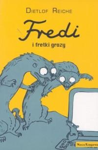 Fredi i fretki grozy - okładka książki