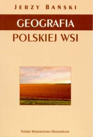 Geografia polskiej wsi - okładka książki