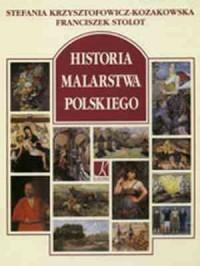 Historia malarstwa polskiego - okładka książki