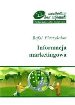 Informacja marketingowa - okładka książki