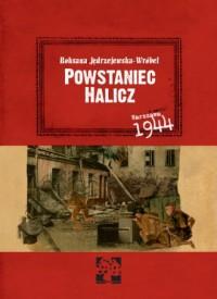 Powstaniec Halicz - okładka książki