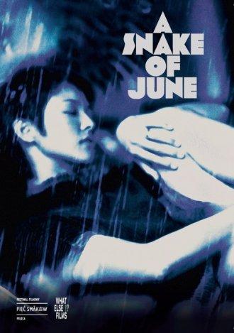 A Snake of June - okładka filmu