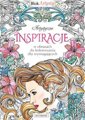 Artystyczne inspiracje w obrazach - okładka książki