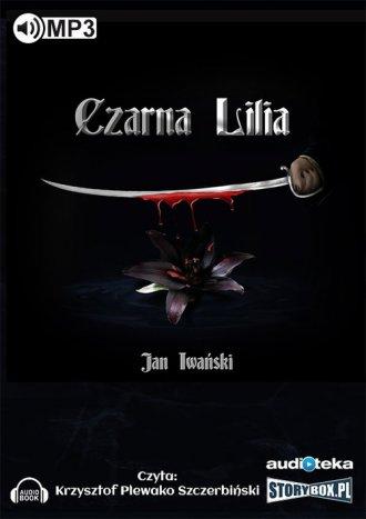 Czarna Lilia - pudełko audiobooku