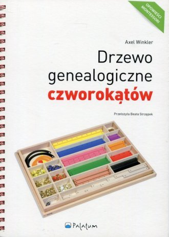 Drzewo genealogiczne czworokątów. - okładka książki