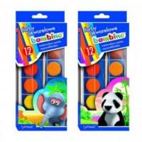 Farby akwarelowe bambino (12 kolorów) - zdjęcie produktu