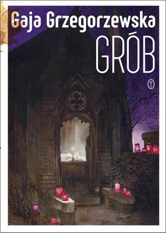 Grób - okładka książki