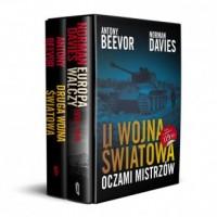 II Wojna Światowa Oczami Mistrzów: II Wojna Światowa / Europa Walczy. PAKIET 2 KSIĄŻEK - okładka książki