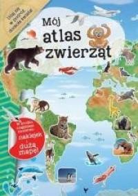 Mój atlas zwierząt - okładka książki