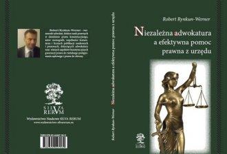 Niezależna adwokatura a efektywna - okładka książki