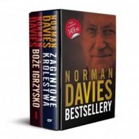 Norman Davies Bestsellery: Boże Igrzysko / Zaginione Królestwa. PAKIET 2 KSIĄŻEK - okładka książki
