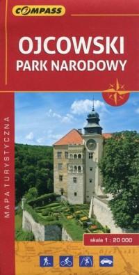 Ojcowski Park Narodowy mapa turystyczna - okładka książki