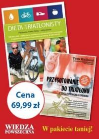 Pakiet dla triatlonistów - okładka książki