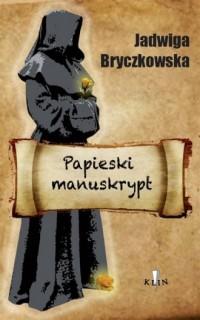 Papieski manuskrypt - okładka książki