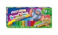 Plastelina bambino (12 kolorów) - zdjęcie produktu