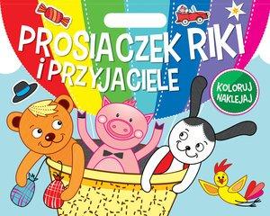 Prosiaczek Riki i przyjaciele. - okładka książki