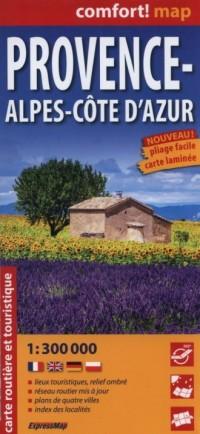 Prowansja Provence-Alpes-Cte dAzur - okładka książki