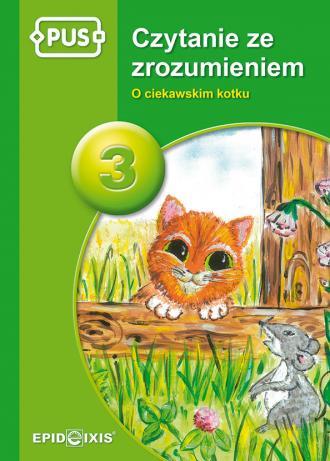 PUS. Czytanie ze zrozumeniem 3. - okładka podręcznika