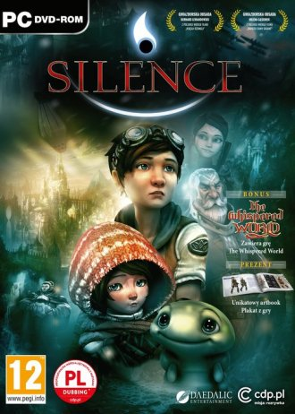Silence + Whispered World (PC) - pudełko programu