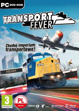 Transport Fever - pudełko programu
