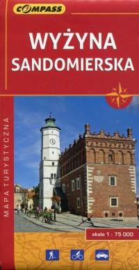 Wyżyna Sandomierska mapa turystyczna - okładka książki