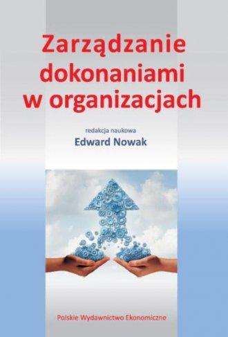 Zarządzanie dokonaniami w organizacjach - okładka książki