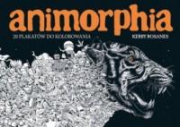 Animorphia. 20 plakatów do kolorowania - okładka książki