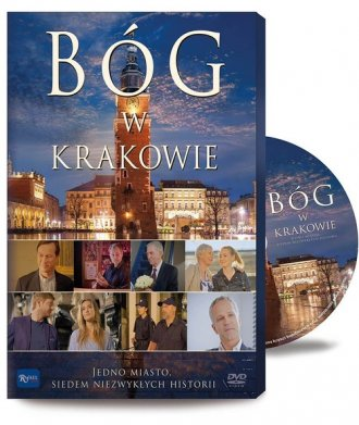 Bóg w Krakowie (DVD) - okładka filmu