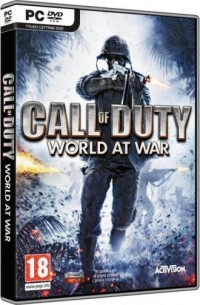 Call Of Duty. World At War (PC) - pudełko programu