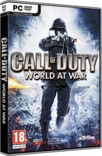 Call Of Duty. World At War (PC) - pudełko programu