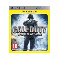 Call Of Duty. World At War Platinum - pudełko programu