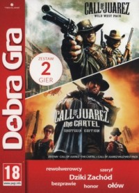 Call of Juarez Cartel   Call of Juarez. Wild West Pack - pudełko programu
