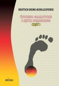 Ćwiczenia gramatyczne z języka niemieckiego cz. 1 - okładka podręcznika