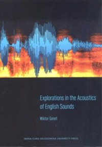 Explorations in the Acoustics of English Sounds - okładka podręcznika