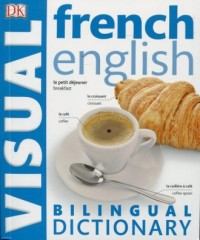 French-English. Bilingual Visual Dictionary - okładka książki