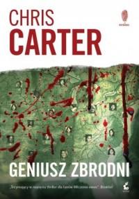 Geniusz zbrodni - okładka książki
