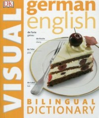 German-English. Bilingual Visual Dictionary - okładka książki