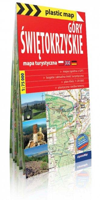 Góry Świętokrzyskie mapa turystyczna. - okładka książki