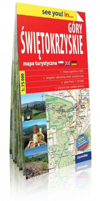 Góry Świętokrzyskie see you! in - okładka książki