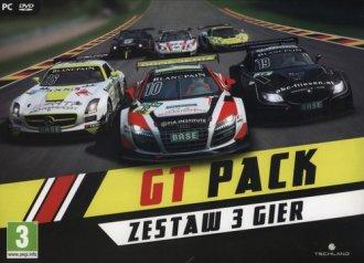 GT PACK. Zestaw 3 gier - pudełko programu