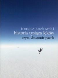 Historia tysiąca lęków - pudełko audiobooku