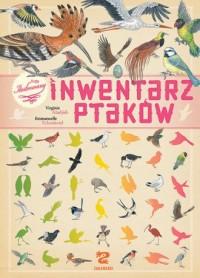Ilustrowany inwentarz ptaków - - okładka książki