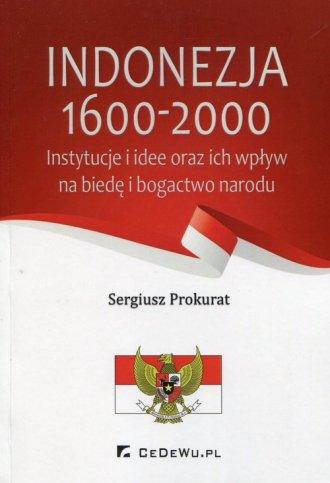 Indonezja 1600-2000. Instytucje - okładka książki